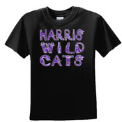 Wild Kitties - 3931B Fruit of the Loom Youth 5oz., 100% Heavy Cotton HD T-Shirt